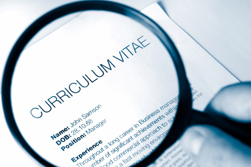 tips on writing cv
