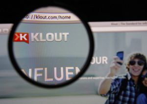 Klout image