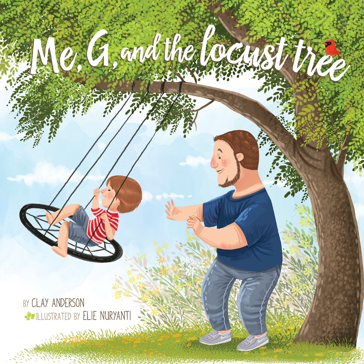 Me, G, and the Locust Tree – Clay Anderson (book review)