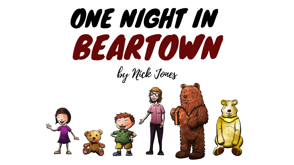 One Night in Beartown – our new book needs YOU!