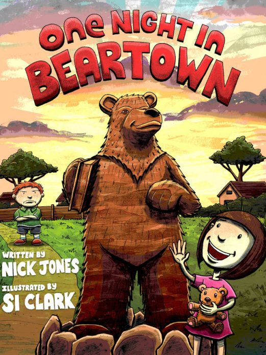 Cover design of One Night in Beartown by Nick Jones