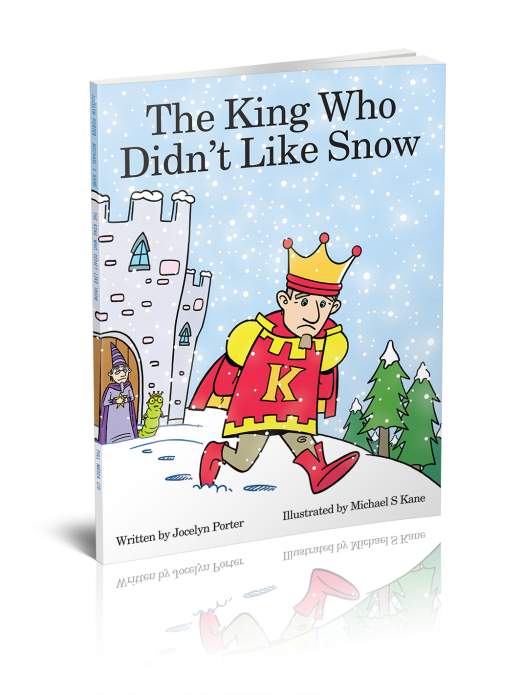 The King Who Didn't Like Snow book cover