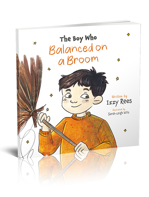 The Boy Who Balanced on a Broom book cover