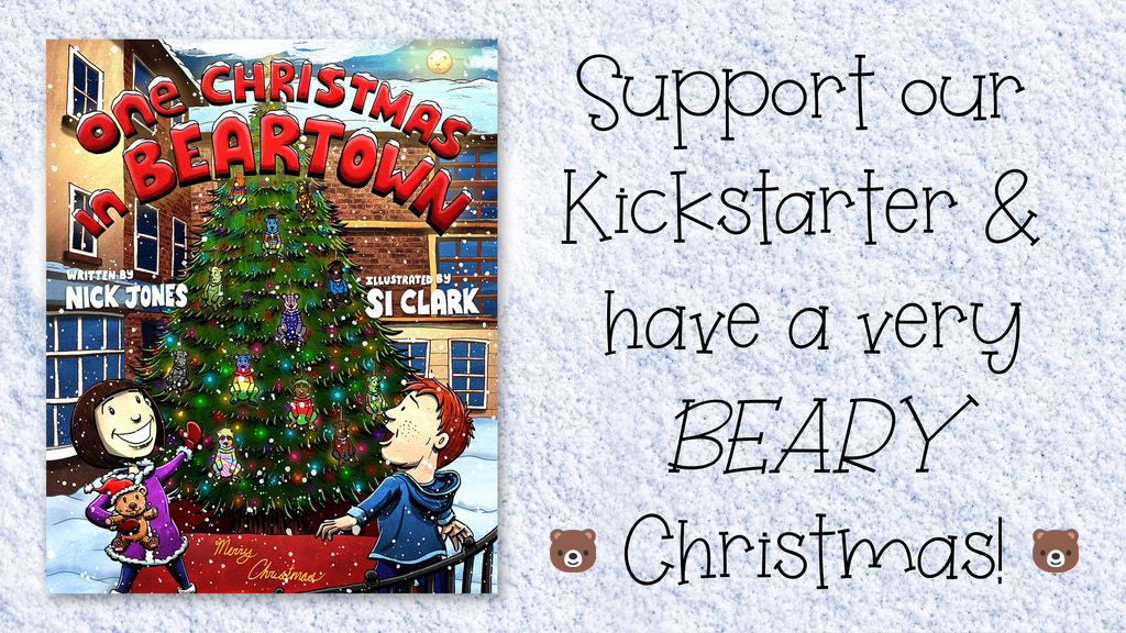One Christmas in Beartown banner